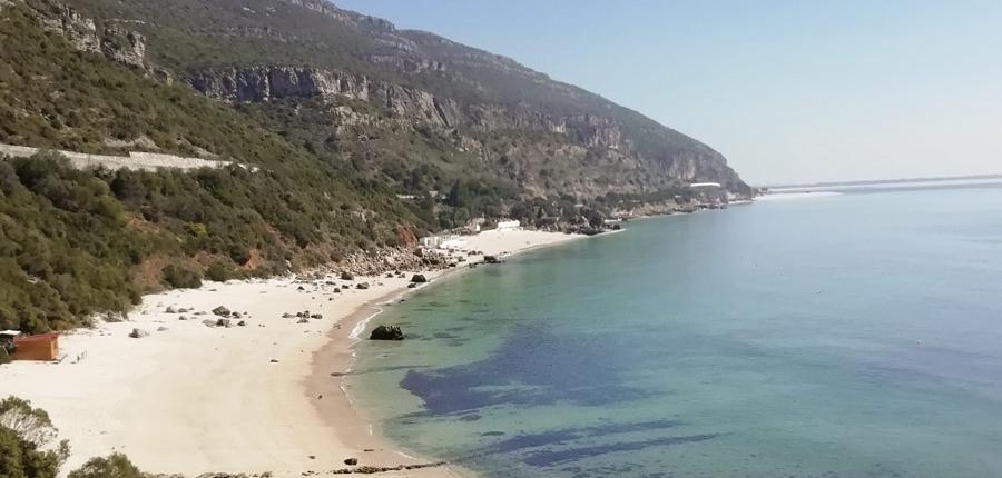 A beautiful beach in the Arrabida Coast
